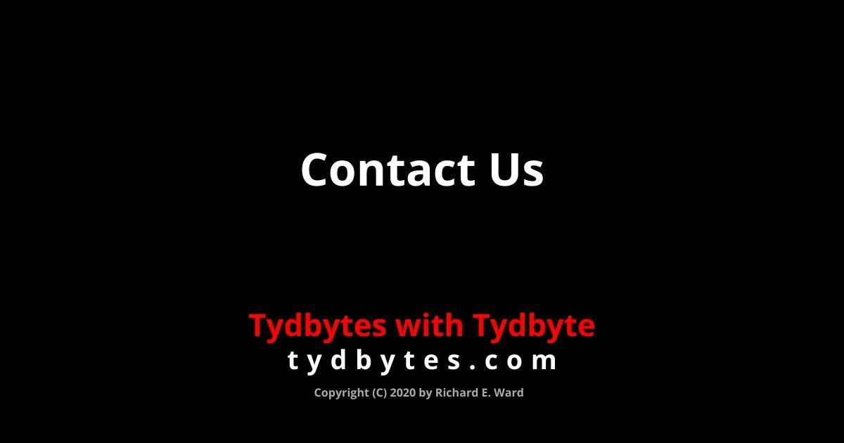 Contact Us - tydbytes.com